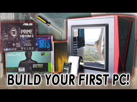 How to BUILD A GAMING PC in 2018 & Get Windows 10 For $12!