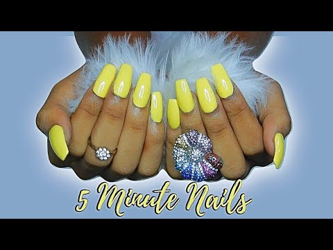 DIY Fake Acrylics for $5 | Bougie on a Budget