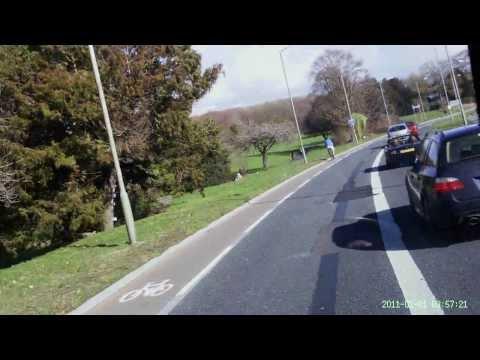 Cab's Eye View Using Headcam   Citaro Artic  Bus 114