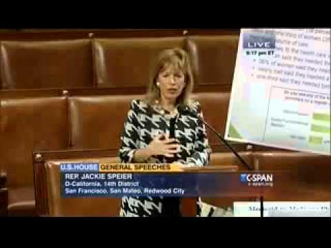 Congresswoman Speier Demands Medicaid Pay Bump