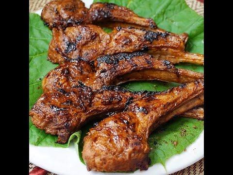 Grilled Soy Lamb Chops - Thịt Cừu Nướng