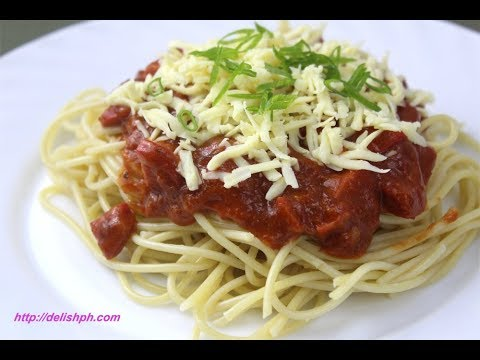 Easy Corned Beef Spaghetti (Sweet Style)