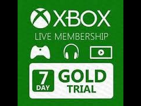 Free xbox live gold trial one week