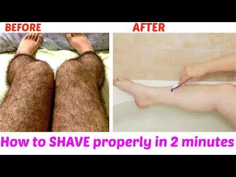दो मिंटो में अंचाये बालोंसे छुटकारा  | How to Shave Perfectly | Get rid of unwanted Hair