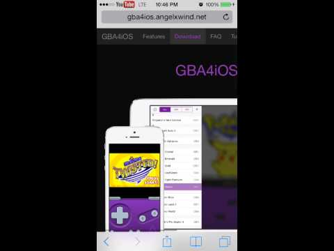 Get GBA/GBC Emulator IOS 7!!!!!
