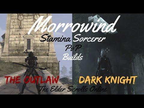 ESO Morrowind Stamina Sorcerer PvP Builds