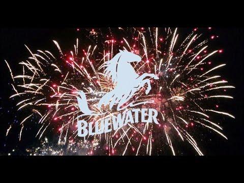 Bluewater Mall Fireworks & Christmas Lights switchon by Santa / Father Christmas and Paddington Bear