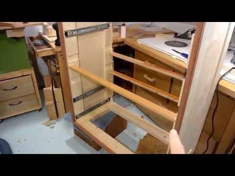 Finishing up the dresser (dresser build, part 3)