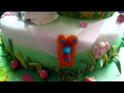 How to make a Smurf Cake