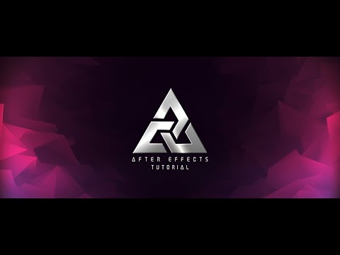 Logo & Text Animation in After Effects - After Effects Tutorial - No Third Party Plugin