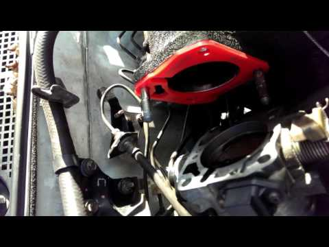 Throttle body gasket replacement.