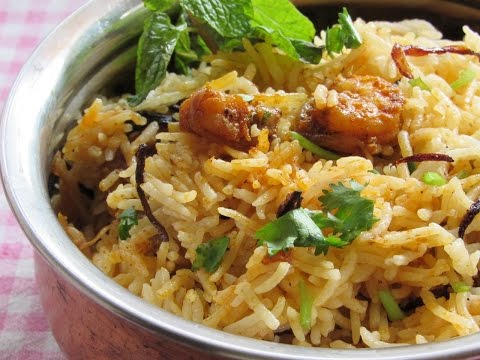 Chemmeen Biriyani Recipe - How To Make Chemmeen Biriyani - Prawns Biriyani Recipe | Nisa Homey