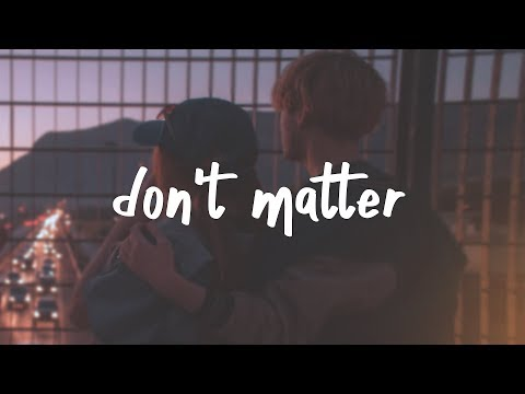 lauv - don't matter (lyric video)