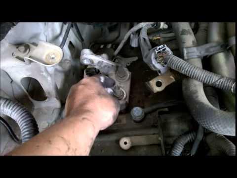 Removing auto transmission 01 Civic without engine hoist