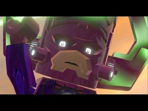 LEGO Marvel Super Heroes Walkthrough Finale - Final Boss + Ending and Credits (Galactus Boss Fight)