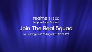 realme 5 series | Launch Event