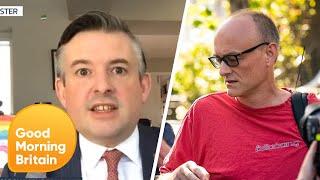 Jonathan Ashworth Criticises Dominic Cummings Breaking Lockdown Rules | Good Morning Britain