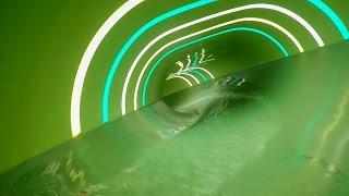 Arena Skövde - Magic Hole   Oval Water Slide Onride Pov