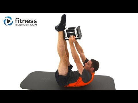 Advanced Abs Workout - 5 Minute Weighted Abs Workout