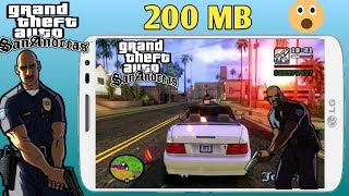 400MB) GTA San Andreas Highly Compressed Game Download APK+OBB