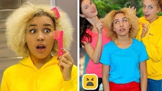 Problems Girls With Curly Hair Understand & Funny Facts! Girl DIY Life Hacks