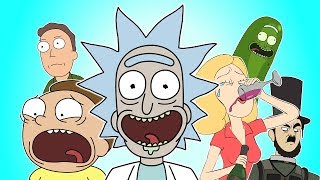 ♪ RICK AND MORTY SONG - Animation Rap Parody