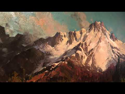 Art appreciation by novice - Hudson River School at De Young asmr?