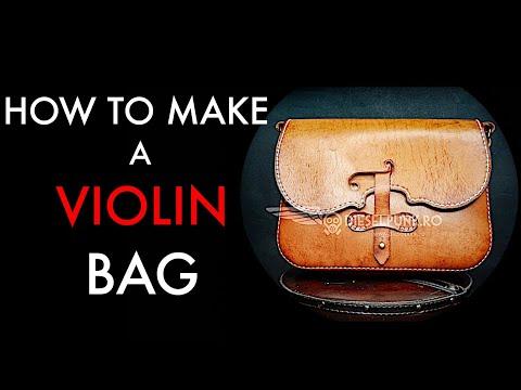 violin bag tutorial