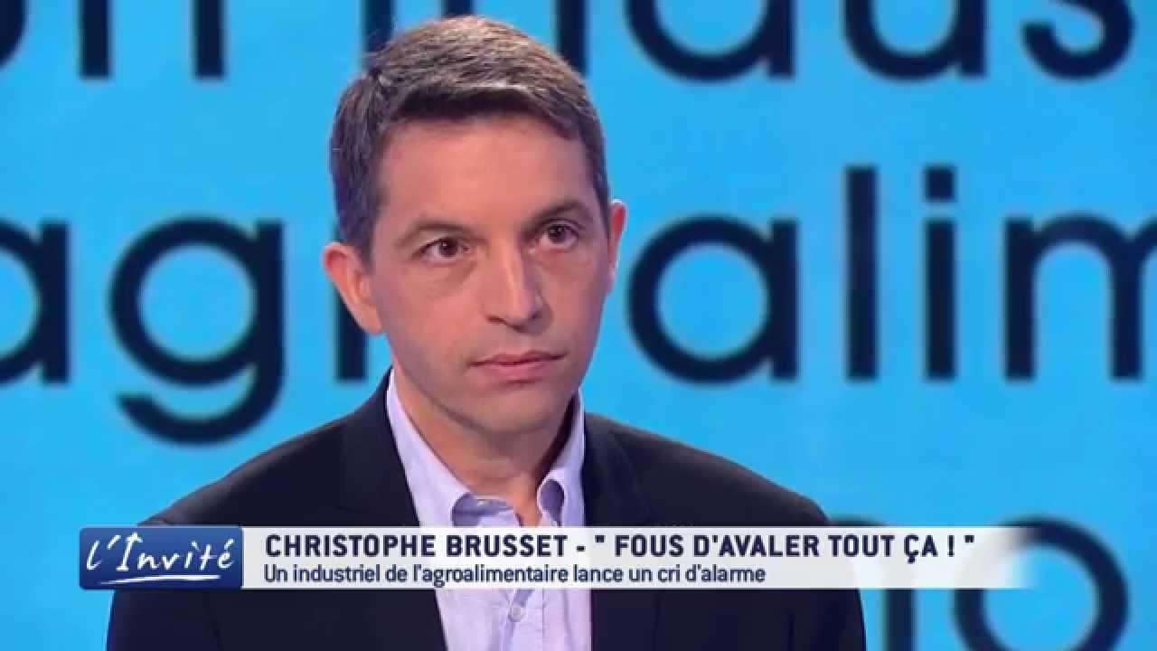 """Christophe BRUSSET : """" Vous êtes fous d'avaler ça ! """""""