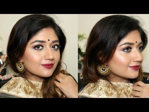 Festive Makeup Tutorial for Dusky Indian Skin | corallista