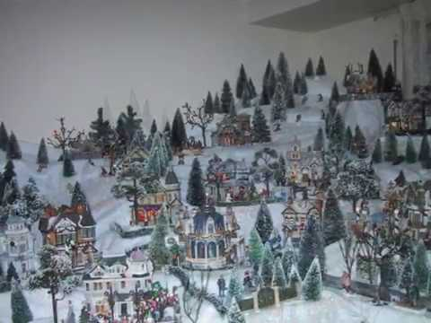 Lemax Christmas Village Displays: Lovely Winter Wonderland