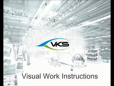 Industry 4.0- VKS Visual Work Instructions