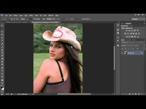 Photoshop Tutorial: Create a Halftone Effect -HD-