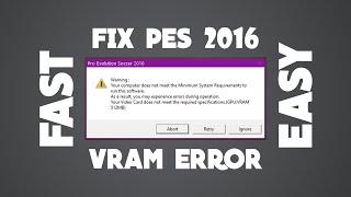 How to fix application load error 6:0000065432 For PES 15 V 2 00