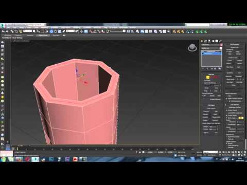 Modelling a cup in 3ds max for beginner