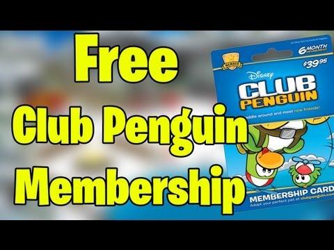 Club Penguin - Free Membership September 2013