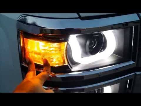 2014 Silverado Anzo Headlights