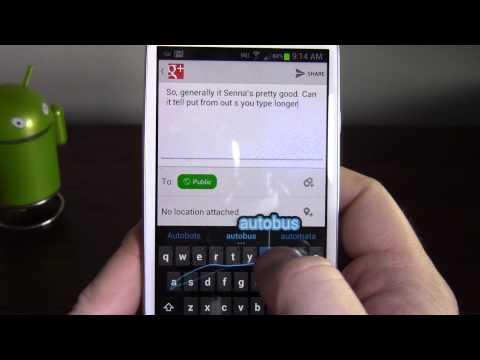 Stock Android 4.2 Keyboard on 4.1.1