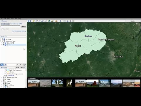 Convert Shapefile to KML Format with ArcGIS