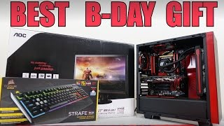 Surprised Brother on B-Day with Full Gaming PC Setup (VLOG #15)