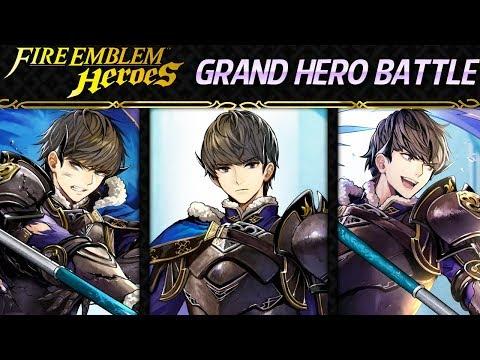 Fire Emblem Heroes - Daily Grand Hero Battle: Berkut INFERNAL+Lunatic F2P Units, No SI
