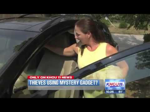 Mystery Device that Unlock Car Doors!