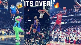 "NBA Dunk Contest ""Out of This World Moments"" ᴴᴰ"