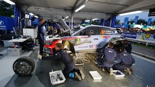 Hyundai Motorsport i20 WRC -Thierry Neuville at Monza Rally Show