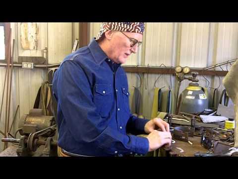 Spur Making - Handmade Cowboy Spurs - Spur Maker Bruce Cheaney Part 1