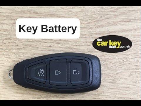 Ford Teardrop Proximity Key Battery change
