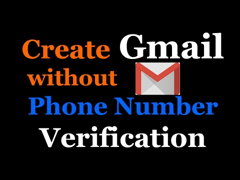 How to create gmail account / email id without Phone / mobile Number verification