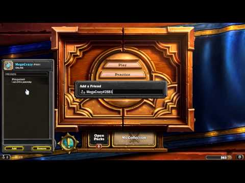 [HearthStone] How to add friends