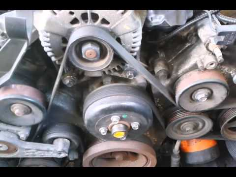 2004 FORD EXPLORER XLT = REPLACING TIMING CHAIN GUIDES