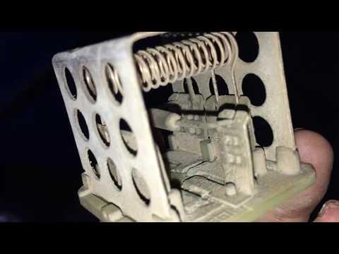 Blower dan Compresor AC mati peugeot 206 servis resistan blower